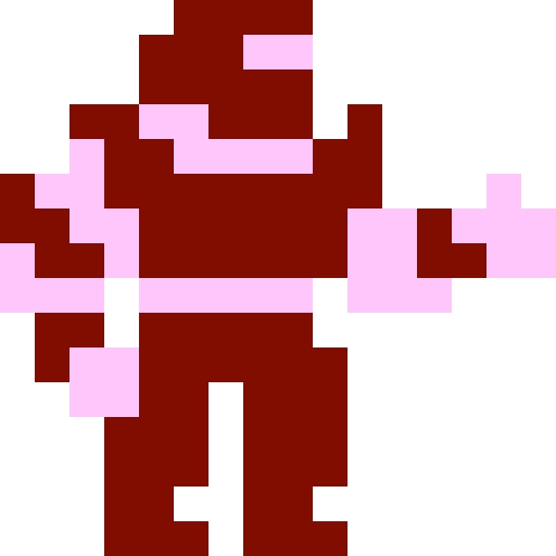 16 x 16 pixel: