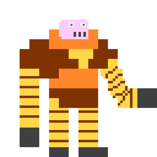 Pixel Art Boss Borot Bobobot Csanyk Com