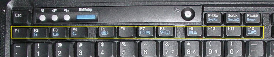 A full row of real F-keys
